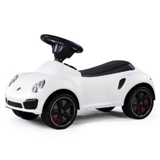 Best Ride On Cars Porsche 911 Turbo Push Car White