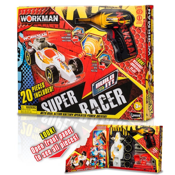 "Workman ""Build Your Own"" Super Racer Car Kit"