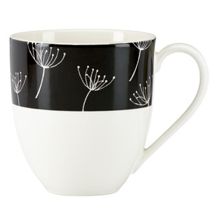 Lenox Around the Table Black Wish Mug
