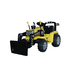 Best Ride On Cars Tractor Ride On 12V Yellow