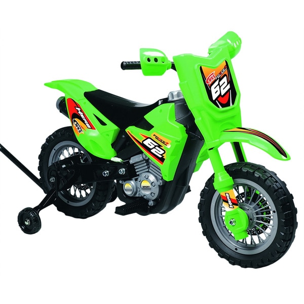 Best Ride On Cars Mini Dirt Bike Green 6V