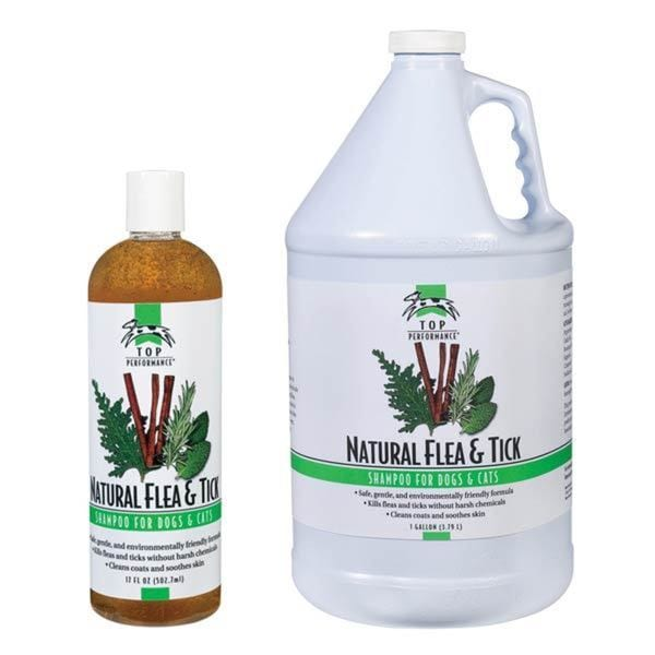 Top Performance Natural Flea&Tick Shampoo 17oz