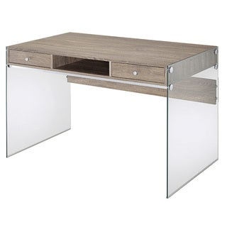 Millenial Collection Avery Writing Desk with Two Drawers