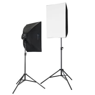 2000 Watt Photography and Digital Video Continuous Light Kit with 2 light stands
