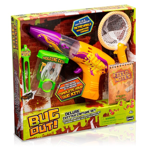 Bug Out! Deluxe Critter Capture Set 18300996
