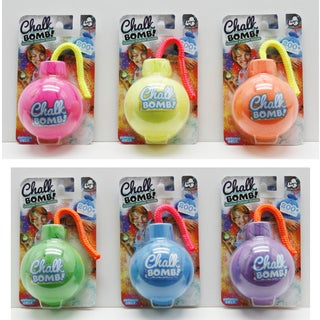 Lanard Chalk Bomb! Outdoor Powder Bombs - 6 Packs