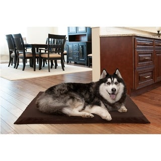 Furhaven NAP Deluxe Orthopedic Terry Top Dog Bed