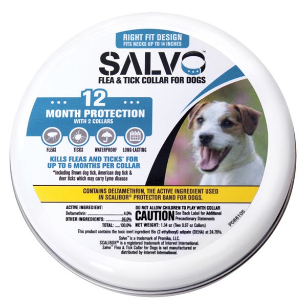 Salvo Flea & Tick Dog Collars