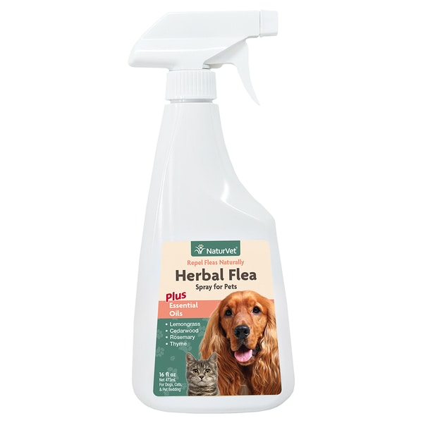NaturVet Herbal Flea Spray