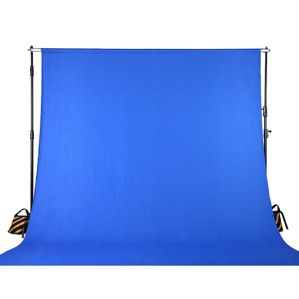 Chroma Key Blue Screen Muslin Photo / Video Backdrop Background Studio