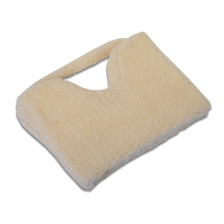 Hermell Faux Shearling Coccyx Seat Cushion