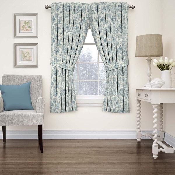 Waverly Charmed Life Toile Window Curtain