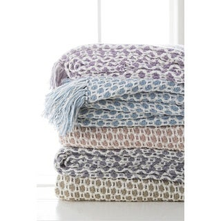 "Alai Knit Cotton Throw (50"" x 60"")"