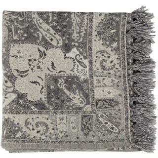 "Gape Woven Wool Throw (50"" x 70"")"
