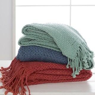"Newbury Knit Cotton Throw (50"" x 70"")"