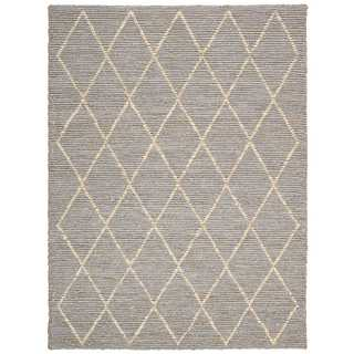 Joseph Abboud Organic Tudor Pewter Area Rug by Nourison (9' x 12')