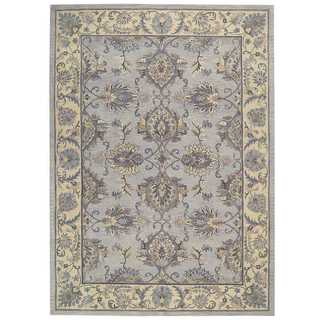 Joseph Abboud by Nourison Sepia Grey Ivory Rug (9'6 x 13')