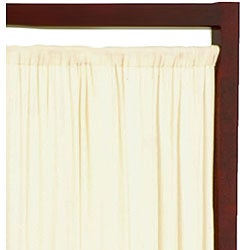 Wood and Cotton Helsinki 72- inch Floor Screen (China)