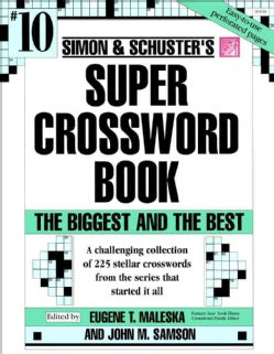 Simon & Schuster's Super Crossword Book: #10 (Paperback)