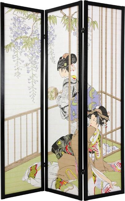 Geisha Shoji Screen (China)