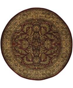 Hand-tufted Elegance Wool Rug (8' Round)