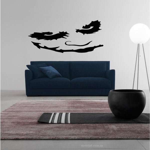 The sinister face Wall Art Sticker Decal