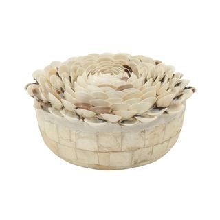 Eye-Catching Wood Shell Sculpture