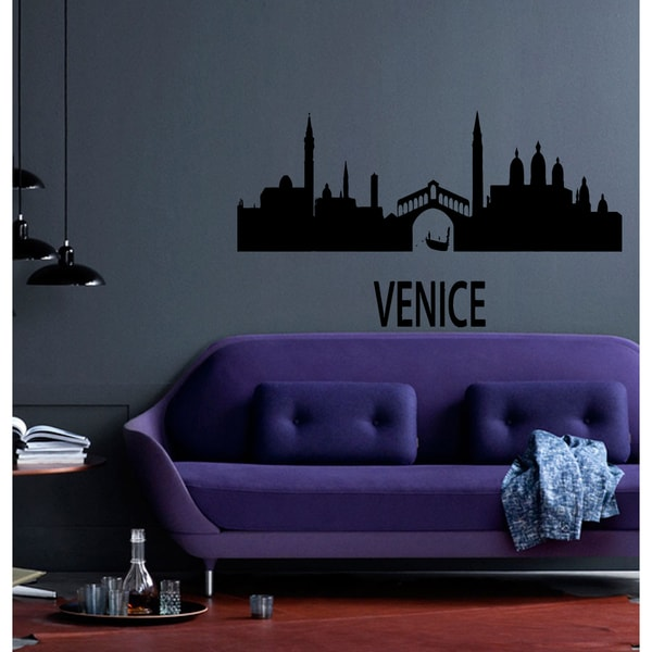 Landscape Venice house Wall Art Sticker Decal