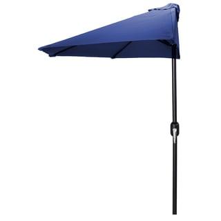 Jordan Manufacturing 9-foot Half Umbrella