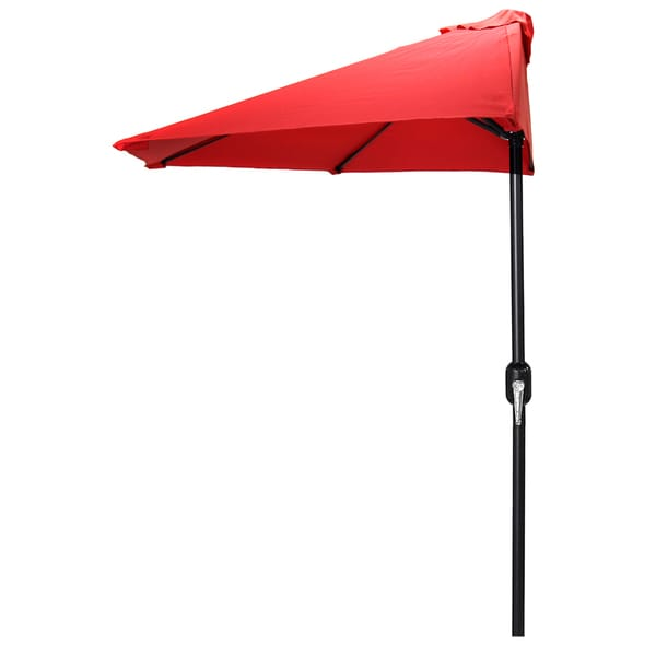 Jordan Manufacturing Red 9-foot Half Umbrella