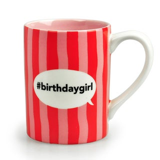 Kityu Gift Birthday Girl Red Ceramic 16-ounce Mug