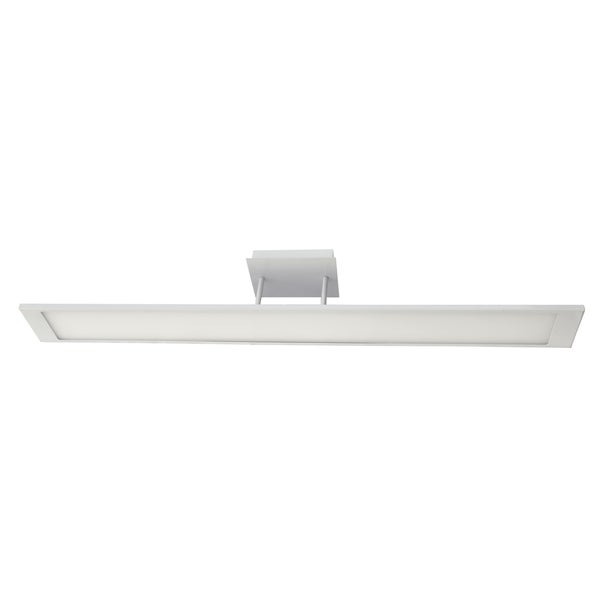 40-watt LED Linear Flat-panel Semi-flush Light