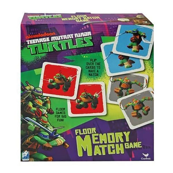 Nickelodeon Teenage Mutant Ninja Turtles Floor Memory Match Game