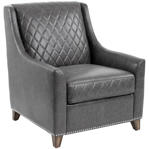 Sunpan Bergamo Leather Armchair
