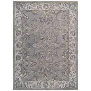 Joseph Abboud by Nourison Sepia Grey Silver Rug (3'9 x 5'9)