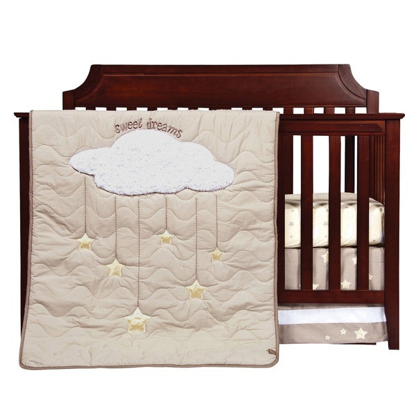Trend Lab Baby Sweet Dreams 3-Piece Crib Bedding Set