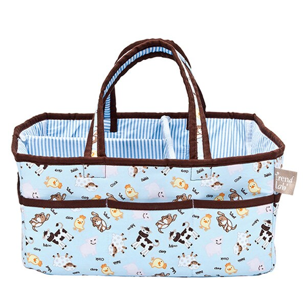 Trend Lab Portable Baby Barnyard Storage Caddy