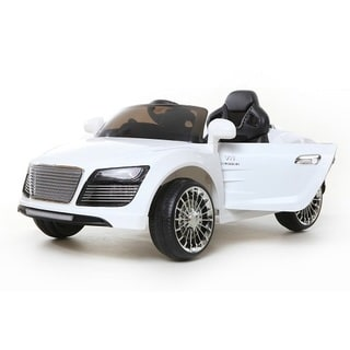 Best Ride On Car Super R10 12-volt White Ride-on Vehicle