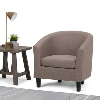 WYNDENHALL Parker 30 inch Wide Transitional Tub Chair - 30 W x 28 D x 30 H