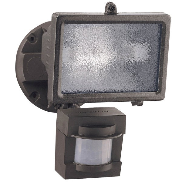 Heathco HZ-5511-BZ 1 Bulb 150 Watt Bronze Halogen Motion Flood Light