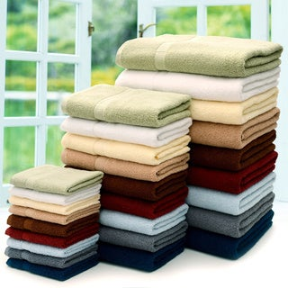 Cheer Collection 4-piece Luxurious Bath Towel Set