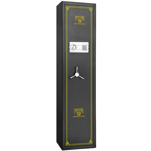 Paragon Lock and Safe Electronic 5-Gun Rifle Cabinet