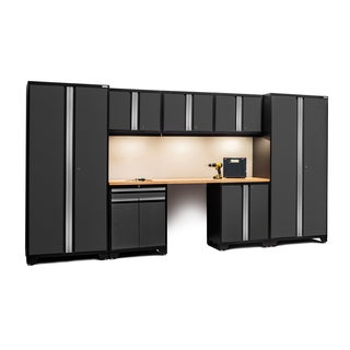 PRO Series 8-piece Set With Bamboo Worktop