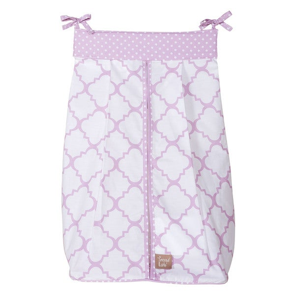 Trend Lab Baby Orchid Bloom Diaper Stacker
