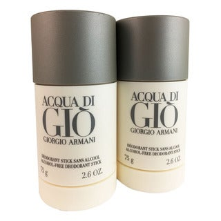 Armani Acqua di Gio Men's 2.5-ounce Deodorant Sticks (Pack of 2)