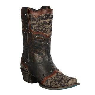 Lane Boots 'Kimmie Shortie' Women's Leather Cowboy Boots