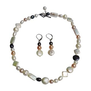 Sterling Silver Freshwater Pearl Necklace (11-12mm)