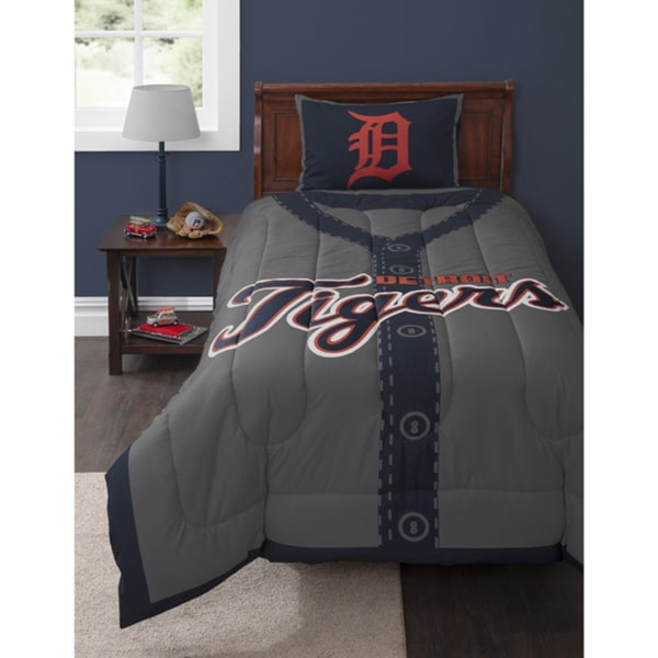 MLB Detroit Tigers Twin 2-piece Comforter Set