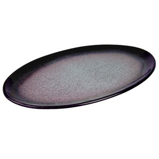Denby Heather Stoneware Oval Platter