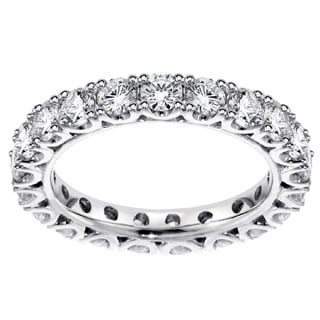 Platinum 2 1/3ct TDW Diamond Eternity Wedding Band (G-H, SI1-SI2)